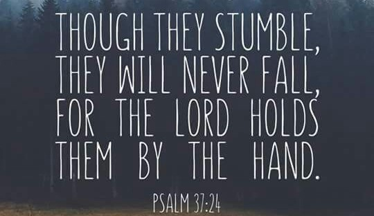 Image result for psalm 37:24